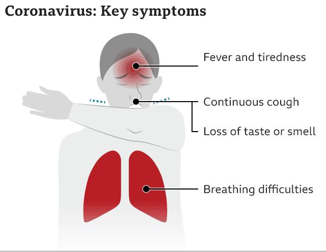 coronavirus key symptoms