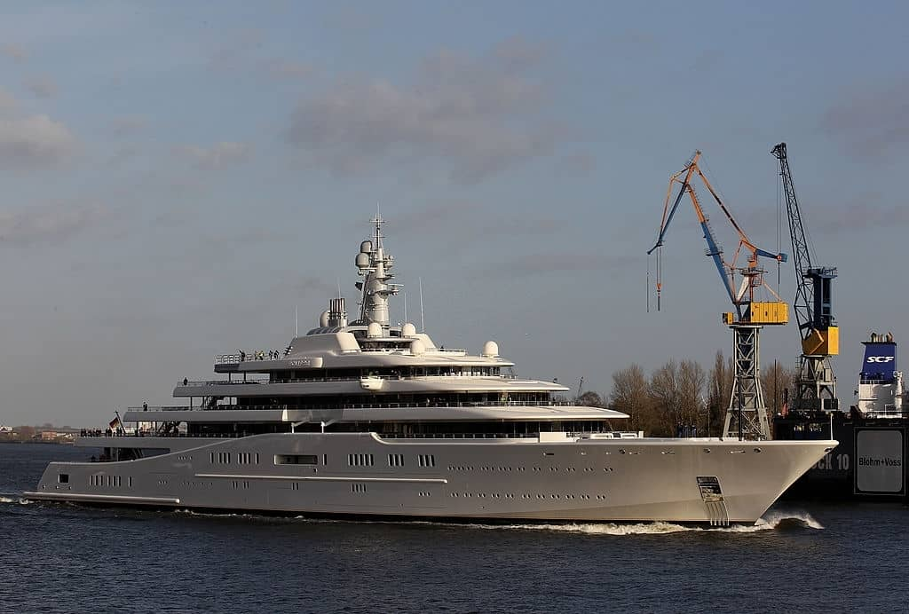Most expensive yacht Eclipse