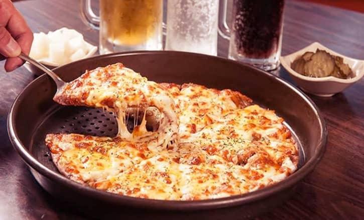 HOW TO COOK FROZEN PIZZA IN AIR FRYER
